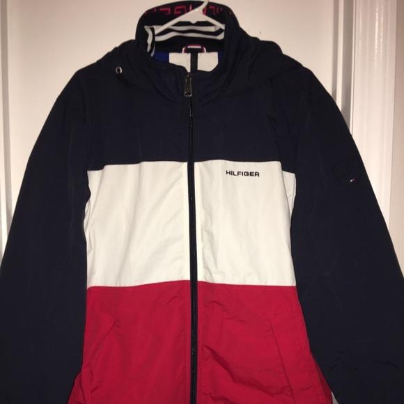 6c4ae264 Tommy Hilfiger Jackets & Coats | Mens Flag Regatta Jacket | Poshmark